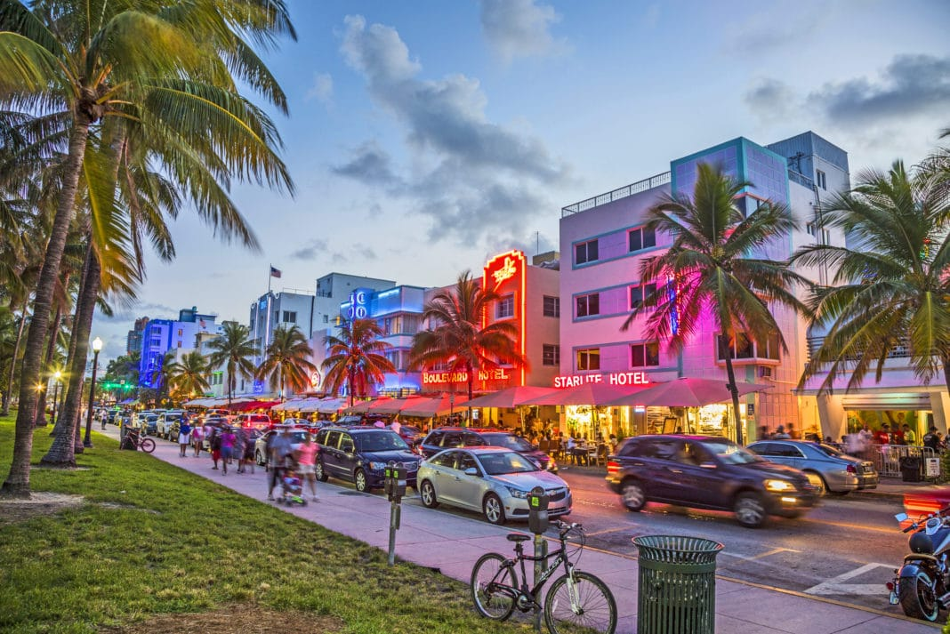 Miami beach, then do try the Ocean Drive