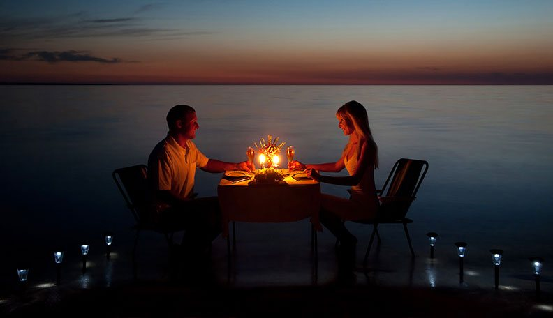 Romantic dinner spots in Bangalore